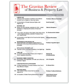 the gravitas review december 2017