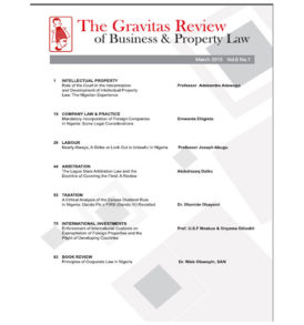 The Gravitas Review March 2015