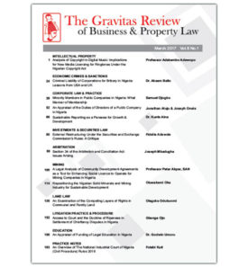 The Gravitas Review March 2017