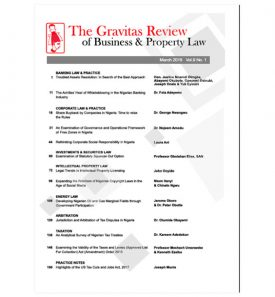 The Gravitas Review March 2018