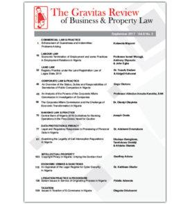 The Gravitas Review September 2017